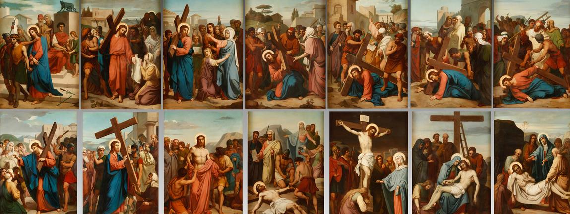 Resultado de imagen de estaciones via crucis
