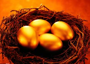 Imagen de huevos simbolico de la abundancia