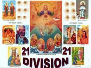 Foto/Imaen que describe las 21 divisiones.