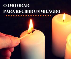 imagen de como orar para recibir un milagro de DIos