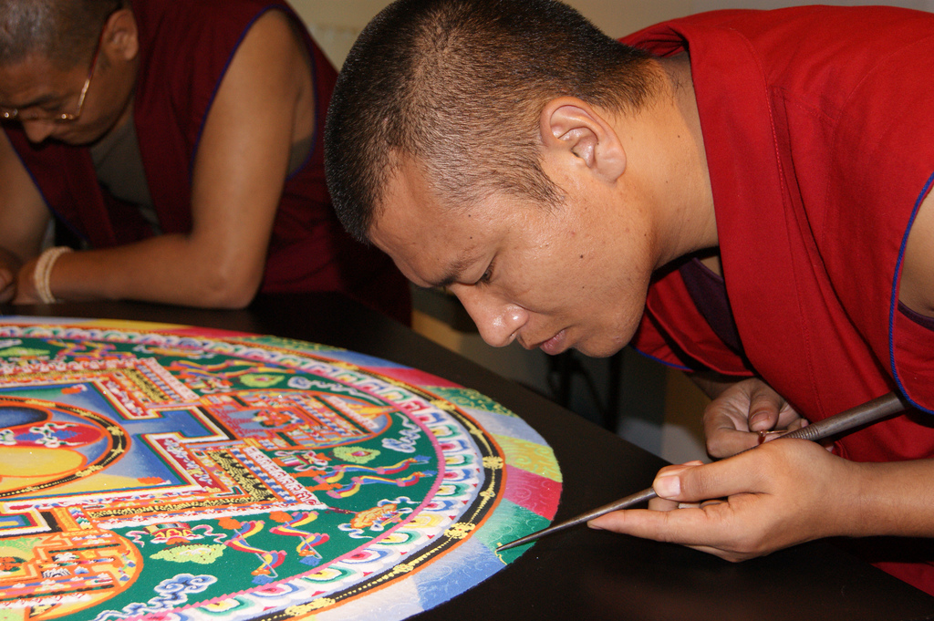 Image of Mandala and Buddhist